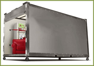 Portable Moving And Storage Space